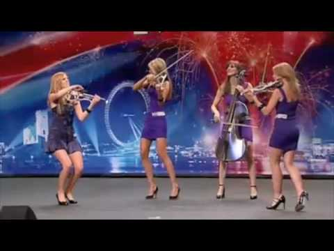 Scala - Live Electric Violins - Britians Got Talent Music Videos