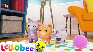 Three Little Kittens Song | Nursery Rhymes & Kids Songs! | Baby Songs | Little Baby Bum