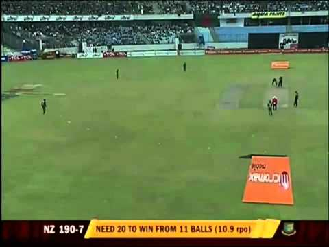 Cricket: Bangladesh vs new zealand ODI 1, Oct 5, 2010