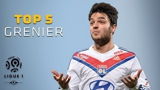 Clément Grenier - Top 5 Buts - Ligue 1 / Olympique Lyonnais