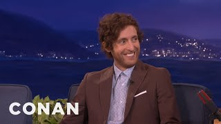 """Thomas Middleditch: """"Silicon Valley's"""" Jerk Off Code Was Mathematically Correct  - CONAN on TBS"""