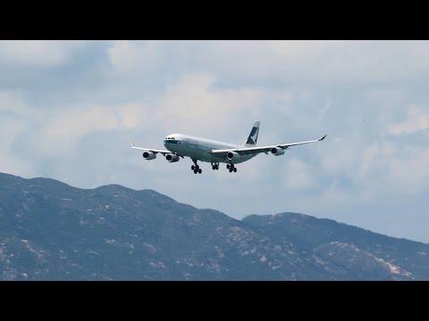 1 hour 2015 plane spotting Hong Kong Airport Chek Lap Kok VHHH 一小時 香港機場 赤鱲角 航拍 2015-6-7
