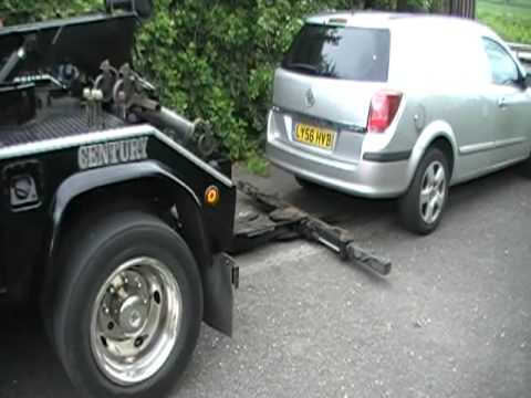 Fully Automatic Repo Truck In The Uk Youtube