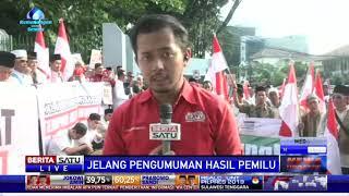 Massa Tandingan People Power Gelar Aksi di Tugu Proklamasi