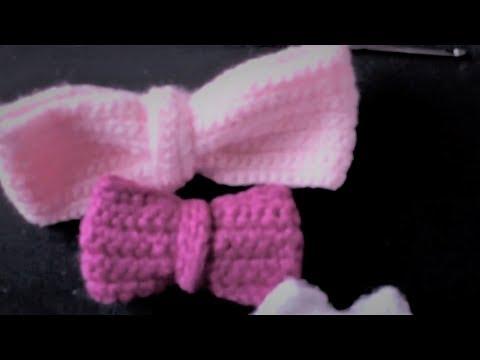 Tejidos a Crochet Videos mo os Tejidos Crochet Bow