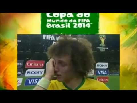 What David Luiz really said in the Interview after Brazil vs Germany 2014 FIFA WORLD CUP