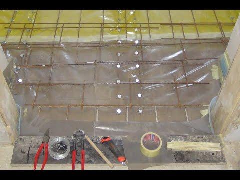 Holz-Beton-Verbundtragwerk Teil 3: Holzbalkendecke ausgleichen, Schwingungen entfernen