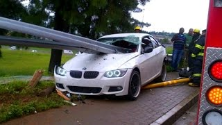 BMW Crash Compilation 2016 - Incredible Brutal Accident Record by Dash Cam Part.1