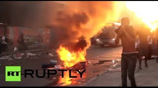 Fury & Frustration: Violence erupts as (Brazilians protest) transport hikes  2/7/14
