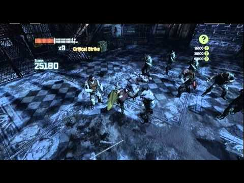 Batman Arkham City Combat Challenge room- survival of the fittest extreme (Robin)