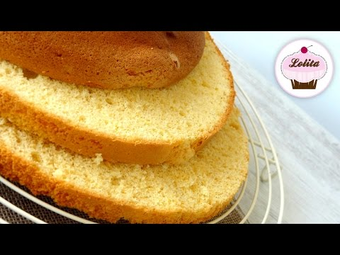 Receta: Bizcocho Genovés -- Base para tartas de varias capas