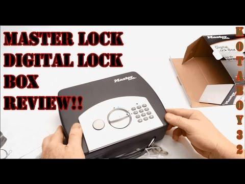 Inexpensive Digital Lock Box by Master Lock Review!!