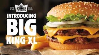 Burger King Big King XL Food Review