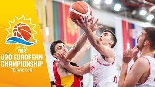 Croatia v Germany - Full Game - FIBA U20 European Championship 2019