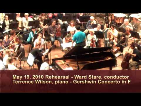 SLSO Video Blog - May 19, 2010 Rehearsal for Gershwin's Piano Concerto in F with Terrence Wilson