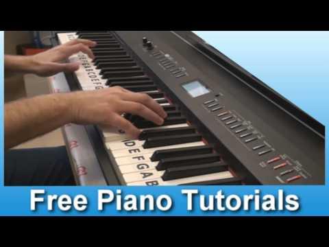 Sean Kingston Ft. Justin Bieber - Won't Stop Piano Cover video