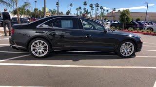 2015 Audi A8 L Oxnard, Ventura, Camarillo, Thousand Oaks, Santa Barbara, CA AXP2391