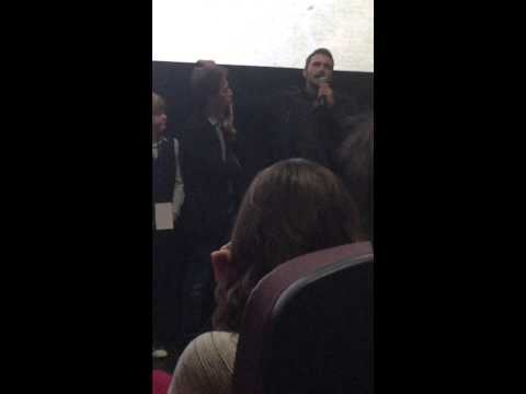 James Franco Q&A; debut The Sound and The Fury; Oxford Film Fest 2/26/15