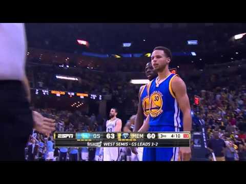 NBA, playoff 2015, Warriors vs. Grizzlies, Round 2, Game 6, Move 40, Zach Randolph, hustle