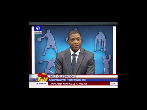 News@10: Super Eagles Prepare For South Africa Showdown 09/09/2014 Pt.4