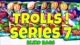 Series 7 Trolls Blind Bags Dreamworks Surprise Toys Opening