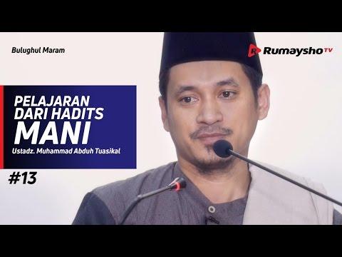 Bulughul Maram (13) : Pelajaran Dari Hadits Mani - Ustadz M Abduh Tuasikal