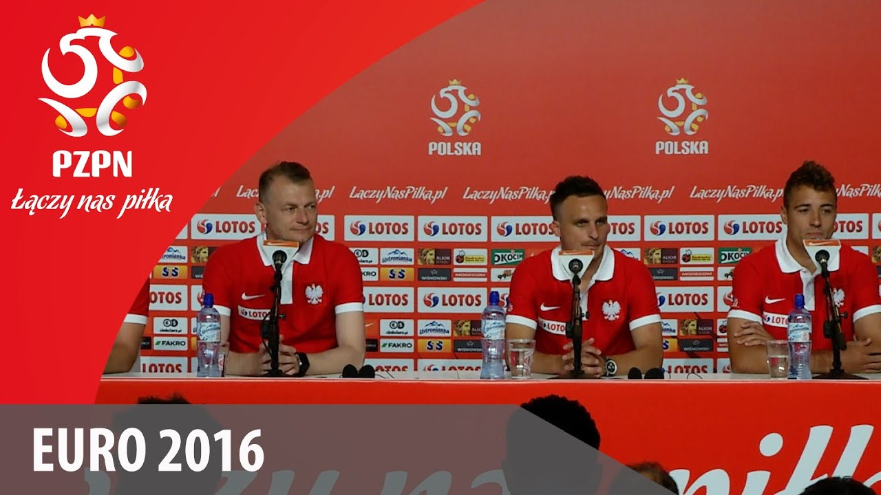 Konferencja reprezentacji Polski (La Baule, 08.06.2016)