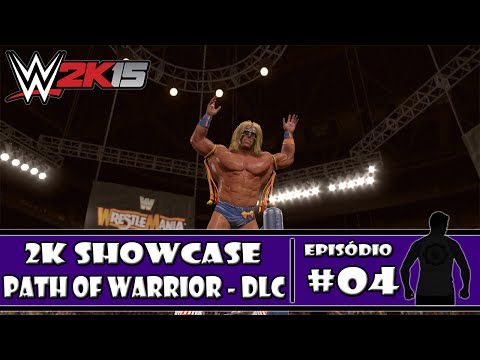 WWE 2K15 (PS4) - 2K Showcase DLC: Path of the Warrior - #04 - PT-BR