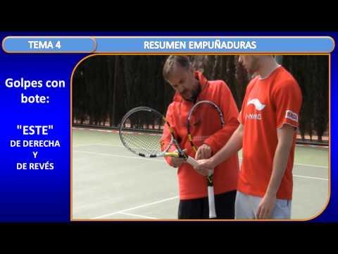 T. 4 Fundamentos Técnicos. Resumen De Las Empuñaduras Del Tenis