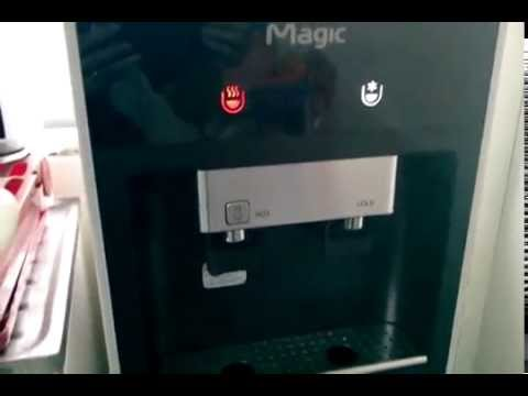 Plan80 Magic RO System Hot Cold Water Dispenser 4 Stages Direct Piping.mp4