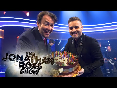 Gary Barlow Birthday Surprise *Exclusive Clip* - The Jonathan Ross Show