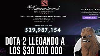 DOTA 2 LLEGANDO A  LOS $30 000 000