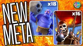 NEW Meta TH9 & TH10 Attacks Live 50v50 War in Clash of Clans