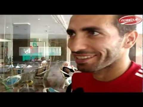 image vidéo كلمة محمد أبو تريكة للجمهور التونسي