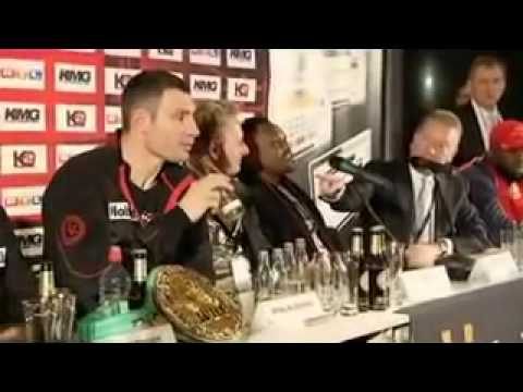 THE MOST VIOLENT BOXING PRESS CONFERENCE IN HISTORY World Up