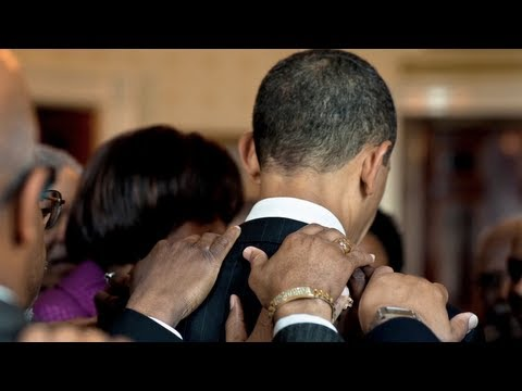 President Barack Obama is leading with faith values