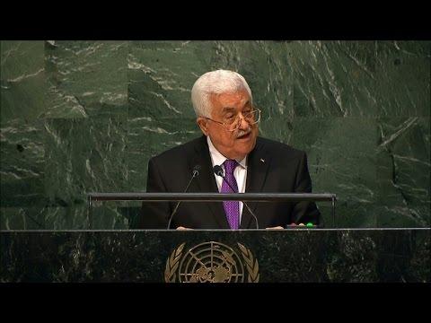 Abbas tells UN Palestine deserves 'full recognition'