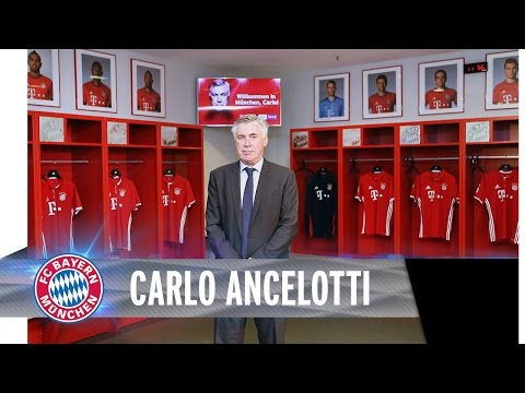 Carlo Ancelotti offiziell vorgestellt | FCB.tv News