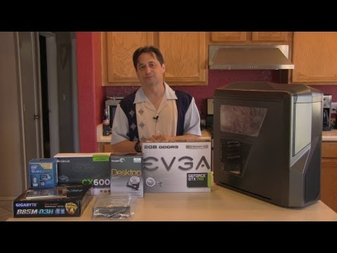 Gaming PC Parts. Build and Delivery