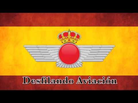 Marchas Ejército del Aire - Desfilando Aviación