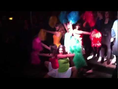Elise Pompom Girl - Show Soirée Paris Tout Compris video