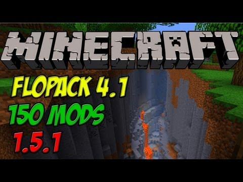 Minecraft Mod Pack - Paczka Modów - FloPack 1.5.1 v4.1 - 150  MODS - PL - ENG