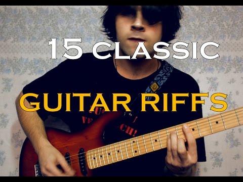 15 Classic Guitar Riffs (Acoustic Version)