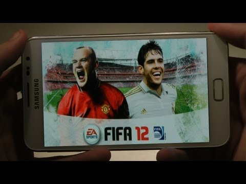 FIFA 12 Samsung Galaxy Note Android Gameplay & Review HD