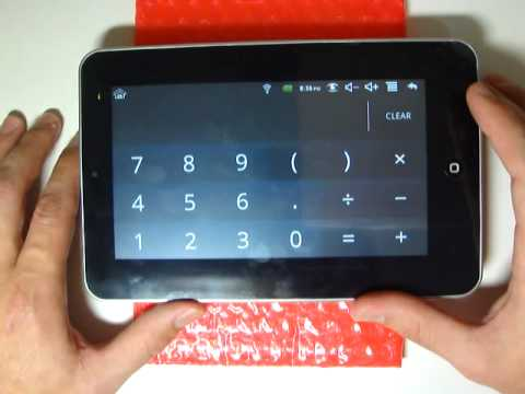 Tablet 7 polegadas Android 2.2