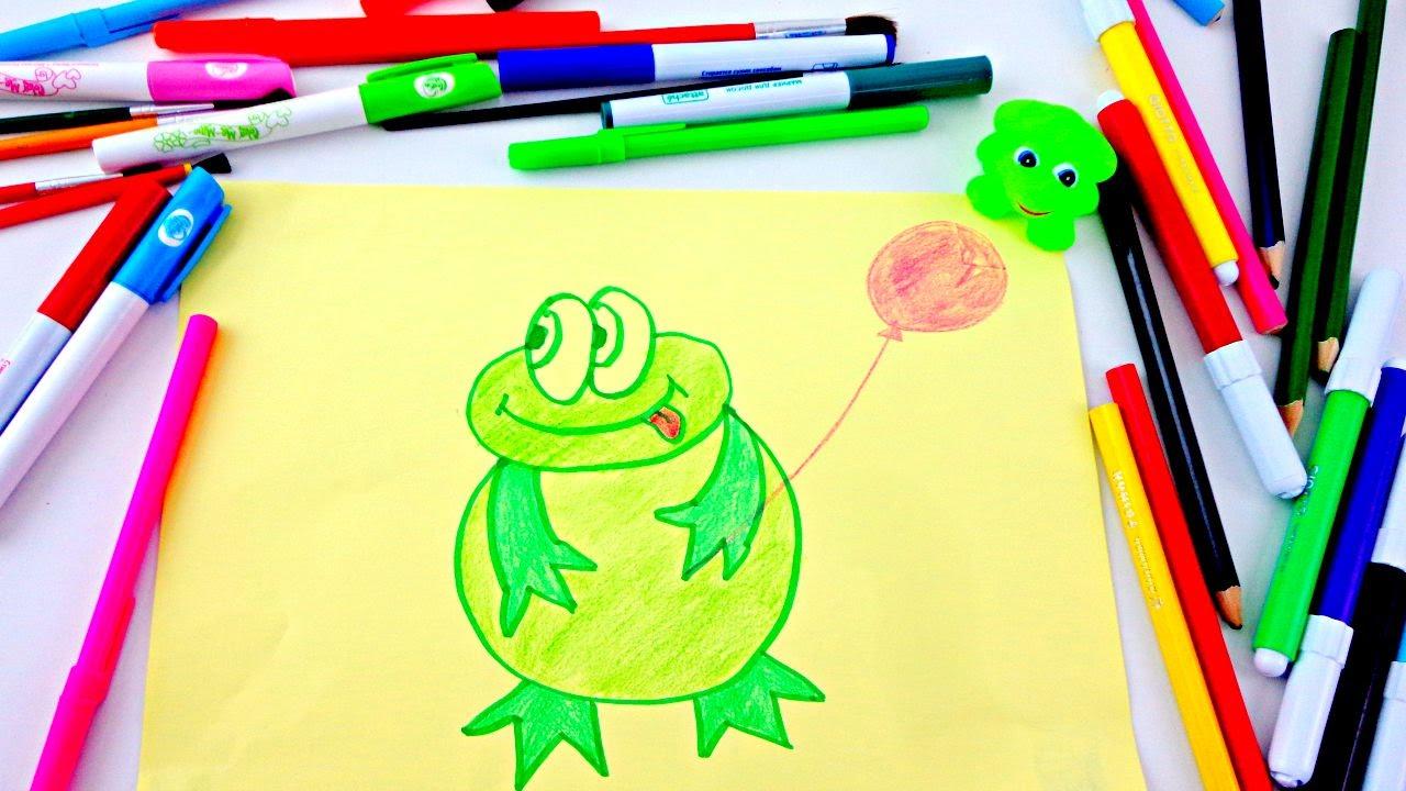 Как научиться рисовать фломастером