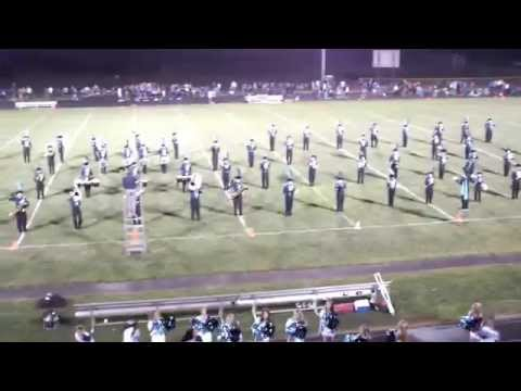 Hockinson High School Half Time show 9-5-14 2nd song