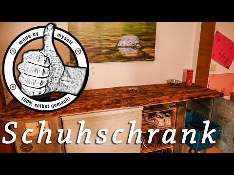Diy Schuhschrank Selber Bauen Schuhregal Aus Weinkisten Und Paletten