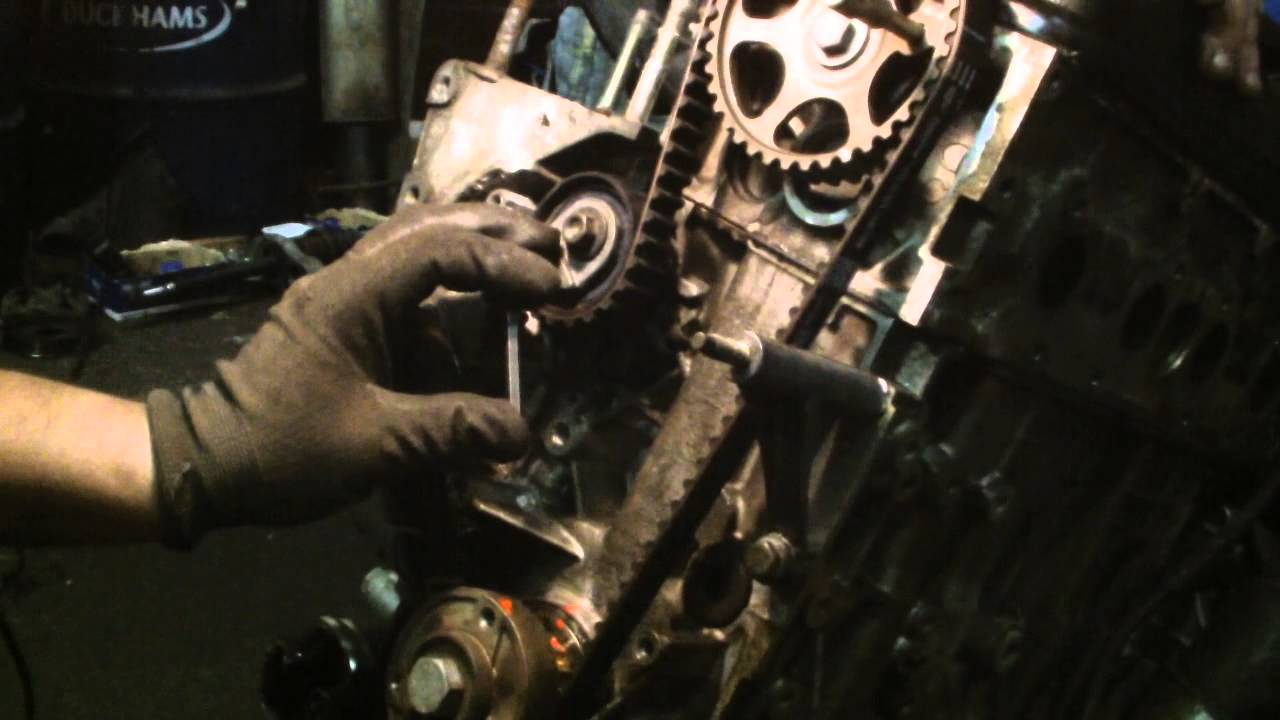 How to Change the Timing Belt on a 2.0L, 4 Cylinder Mazda Mx6 1993 to 2002 recommendations