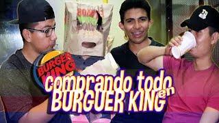 🔥¡¡Compramos TODA la Cuponera de Burger king!!🔥